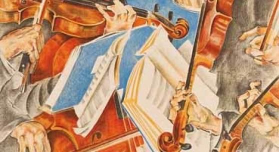 Max Oppenheimer  Rosé-Quartett, 1920