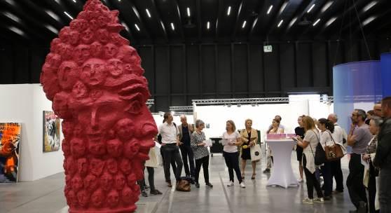 PK-Art-Bodensee-2018-Kunstraum-Dornbirn Mit einer Arbeit des Tiroler Künstlers Elmar Trenkwalder setzt der Kunstraum Dornbirn einen skulpturalen Akzent auf der Art Bodensee 2018.