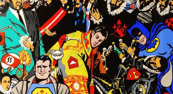 Equipo Crónica: El Happening del Conde de Orgaz, 1968.