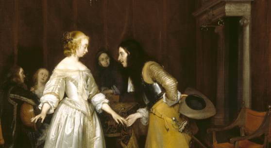 Gerard ter Borch, The introduction, c. 1662, National Trust, Polesden Lacey, Surrey