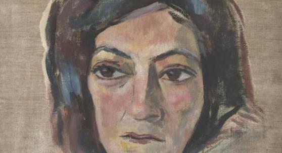 Alfred Wickenburg, Portrait Mela Hartwig, 1933  Öl auf Leinwand, Velden am Wörthersee: Privatbesitz Henriette Gorton-Wickenburg