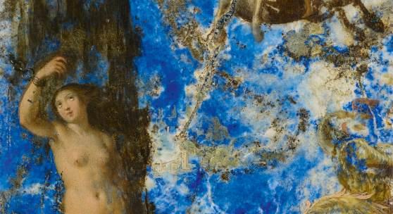 Prager Schule um 1600 Perseus rettet die Andromeda Malerei auf Lapislazuli | 14 x 9,5cm Taxe: €15.000 – 20.000