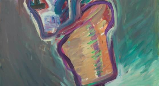 Maria Lassnig* (1919 – 2014) Korkenziehermann, 1986 Öl auf Leinwand 205 x 134,5 cm 350.000 – 550.000 € verkauft um: € 504.000