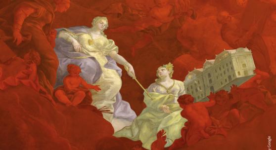 Am 8. März 2020, dem Internationalen Frauentag, ist Wiener Linien-Tag im Prunksaal der Österreichischen Nationalbibliothek – © Image by Google