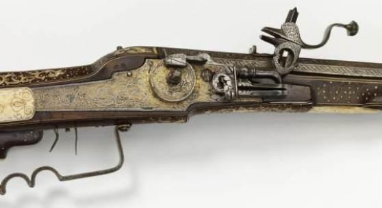 Radschlossbüchse, süddeutsch, um 1610/30, Jagdwaffe