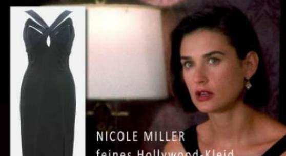 Nicole Miller feines Hollywood-Kleid