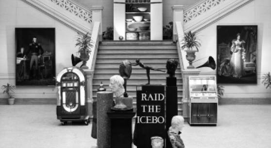 nstallation view of Raid the Icebox in NOMA's Great Hall, 1969-1970, Image Courtesy of the New Orleans Museum of Art, Photo: Stuart Lynn