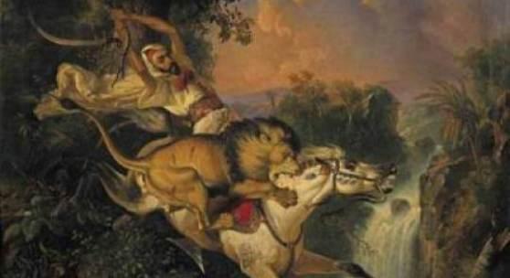 Werke des javanischen Prinzen, der mit vollem Namen Prinz Raden Sarief Bustaman Saleh Ben Jaggia heißt, auf den Markt.