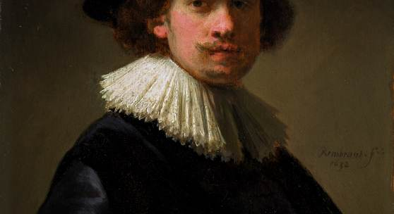 Rembrandt Van Rijn, Self-portrait, wearing a ruff and black hat, 1632, est £12-16 million ($15-20 million)