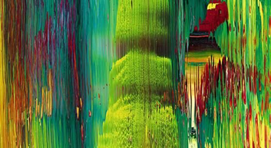 Gerhard Richter, Abstraktes Bild (843-4), 1997. Estimate $600,000–800,000.