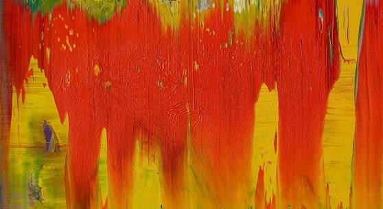 Lot 642 Nr. 394 119 Gerhard Richter Abstraktes Bild  (WVZ 841-10). 1997 Öl auf Alu-Dibond, 29 x 37 cm Schätzpreis: € 300.000 – 400.000,-