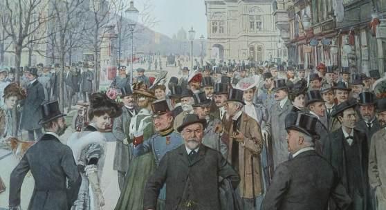 RingstraßenKorso um 1900