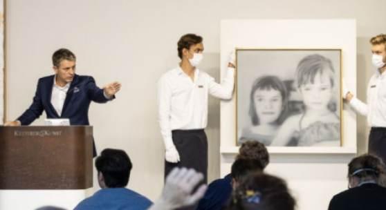 Robert Ketterer erzielt mit € 2.625.000* für Gerhard Richters Gemälde einen neuen kontinentaleuropäischen Rekord