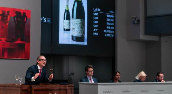 Two Bottles of Romanée Conti 1945 Each Sell for $558,000 and $496,000