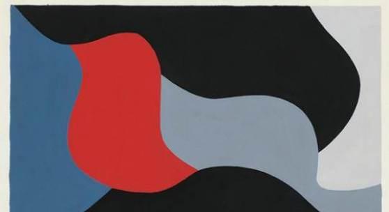 EQUIPO 57 - Sin titulo 1961 - Gouache sobre papel - 41x56cm - Courtesy galeria Rafel Ortiz, Sevilla