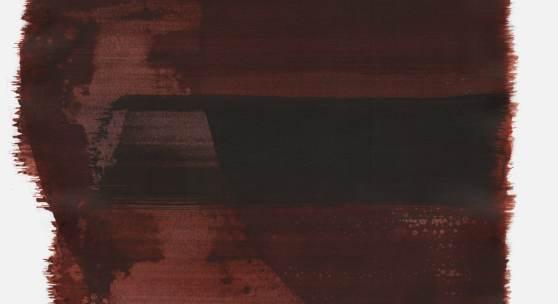 """""""Schrei 21:43 Uhr"""", 2016, Tusche auf Papier, 48 x 36cm; ©: Konstanze Sailer"""