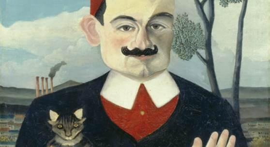 Henri Rousseau Portrait de Monsieur X (Pierre Loti), 1906 Öl auf Leinwand, 61 x 50 cm Kunsthaus Zürich, 1940
