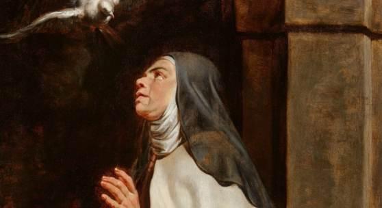 Lot 1048 Nr. 394 399 Peter Paul Rubens Die Heilige Theresa von Avila Öl auf Holz, 80 x 54 cm Schätzpreis: € 250.000 – 350.000,- Ergebnis: € 322.000,-