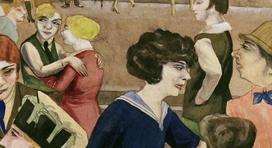 Rudolf Schlichter, Damenkneipe (Women's Club), c. 1925, Private collection © Viola Roehr v. Alvensleben, Munich. Photo: akg-images