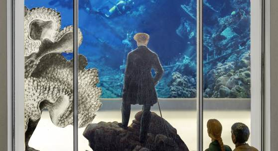 Steinbrener/Dempf & Huber, Rumble Fish (Modell), Installation 2019 © Steinbrener/Dempf & Huber
