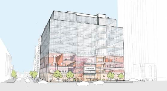Exterior Sketch - Credit OMA New York