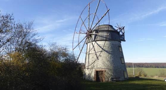 Holländerwindmühle in Eckartsberga © Deutsche Stiftung Denkmalschutz/Wegner