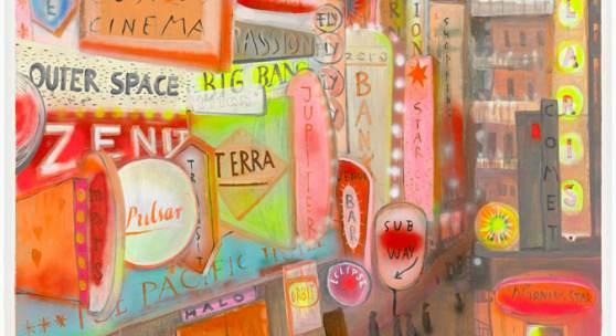 Norbert Schwontkowski, Unser kosmisches Leben 2013 Öl auf Leinwand, 240 x 200 cm, Familie Brunnet, Berlin, © Nachlass Norbert Schwontkowski – Contemporary Fine Arts, Berlin, Foto: Jochen Littkemann