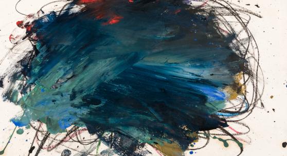 16. Kunstauktion Arnulf Rainer, Ohne Titel / untitled Lot 1  Rufpreis: € 14.000