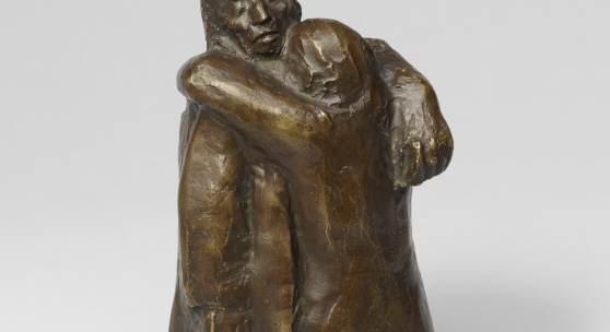 Käthe Kollwitz, Liebesgruppe, 1913-1915, Bronze, Seeler 13 © Käthe Kollwitz Museum Köln, Photo: Fuis, Goldbeck