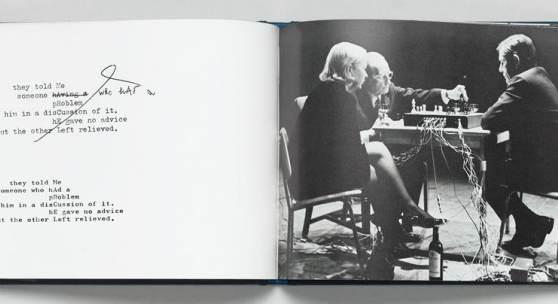 SHIGEKO KUBOTA Marcel Duchamp and John Cage, 1970, Staatsgalerie Stuttgart, Archiv Sohm © VG Bild-Kunst, Bonn 2018