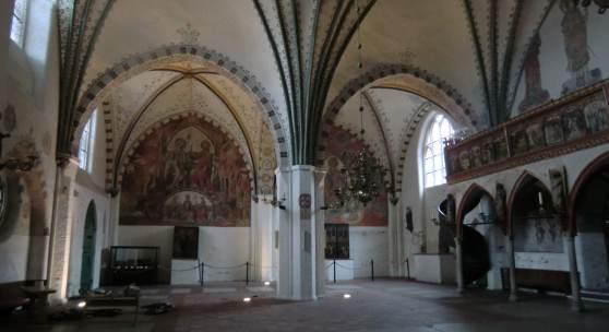 Innenraum des Heiligen-Geist-Hospitals in Lübeck © DSD/Liebeskind