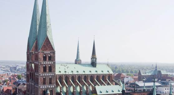 Marienkirche in Lübeck © R. Rossner/Deutsche Stiftung Denkmalschutz