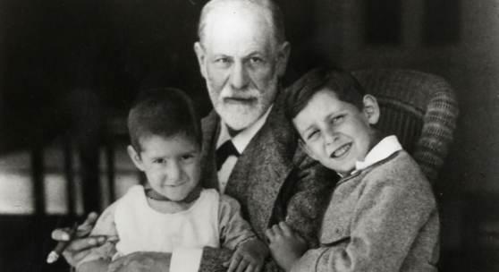 Foto: Sigmund Freud und Enkelsöhne, (c) Sigmund Freud Privatstiftung