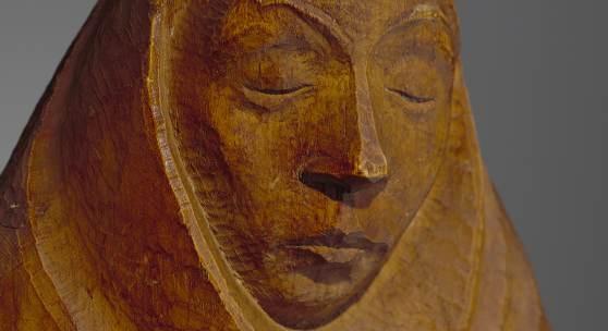 Ernst Barlach, Schwangeres Mädchen, 1924 © Albertinum/Skulpturensammlung, Staatliche Kunstsammlungen Dresden, Foto: Hans-Peter Klut/Elke Estel