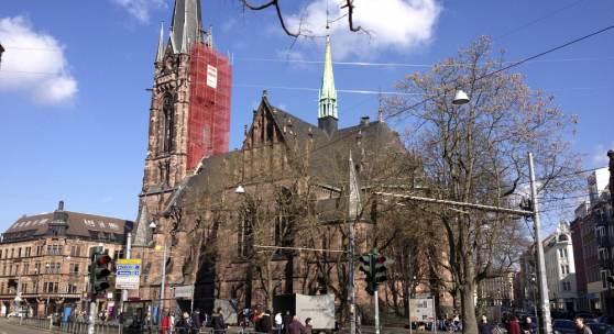Johanneskirche in Saarbrücken © Deutsche Stiftung Denkmalschutz/Bolz
