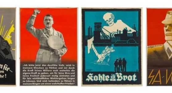 Nachlass Dr. Julius Ludwig - - Umfangreiche Sammlung von 131 politischen Plakaten der Weimarer Republik und des Dritten Reichs aus dem Nachlass von Dr. Julius Ludwig. Ca. 1917 - 1936. Schätzpreis:30.000 EUR