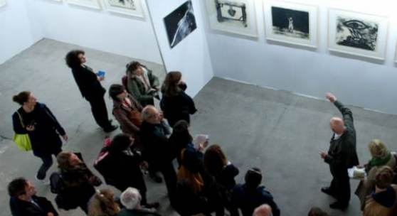 Impressionen BERLINER LISTE 2014 fair for contemporary art