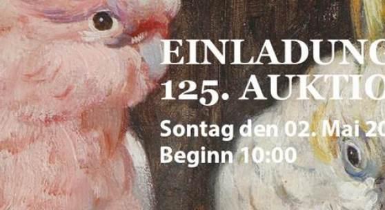 EinLADUNG 125. Kunst- und Varia Auktion