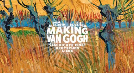 """Plakat """"Making Van Gogh - Geschichte einer deutschen Liebe"""""""