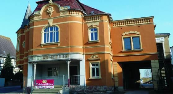 """Gasthof """"Zum Wilden Mann"""" in Ostrau © Deutsche Stiftung Denkmalschutz/Mittring"""