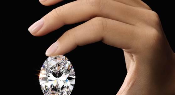The 88.22-carat, D Colour, Flawless, Type Ila, Oval Brilliant Diamond Est. HK$88-100 million / US$11.2-12.7 million