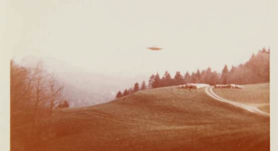 """UFO"" Photograph,""Billy"" Eduard Albert Meier As seen in the ""I Want to Believe"" UFO poster from the hit sci-fi series The X-Files"