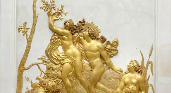 Apoll und Daphne, Ovidgalerie, Neue Kammern von Sanssouci © SPSG / Foto: Wolfgang Pfauder