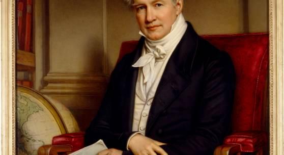 Joseph Stieler, Alexander von Humboldt, 1843 Foto: SPSG, Gerhard Murza
