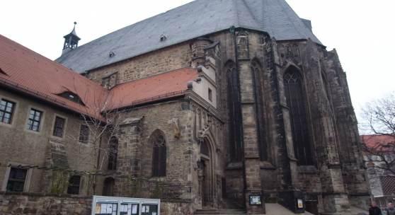 Ein Beispiel für viele: St. Moritzkirche in Halle (Saale) © Deutsche Stiftung Denkmalschutz/Wegne