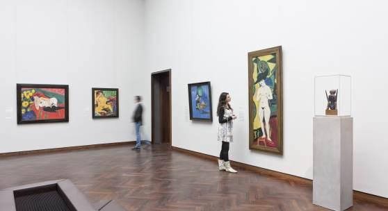 Sammlungsbereich Moderne Ausstellungsansicht Foto: Städel Museum