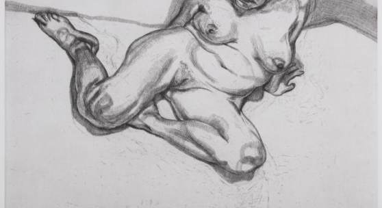 Lucian Freud, Girl Sitting (1987)