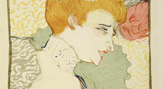 Henri de Toulouse-Lautrec (1864–1901) Mademoiselle Marcelle Lender, en buste, 1895 Lithografie in acht Farben auf Velin, 32,9 x 24,4 cm Städel Museum, Frankfurt am Main Foto: Städel Museum – ARTOTHEK