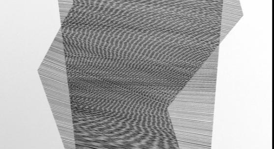 Overlay 02, 2017, Tusche auf Karton, Foto: Bettina Frenzel ©