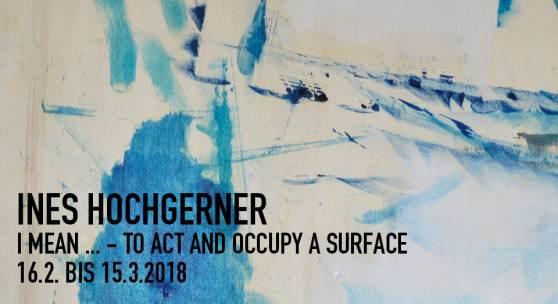 Plakat: Ines Hochgerner, Ausstellung im Wien Museum MUSA